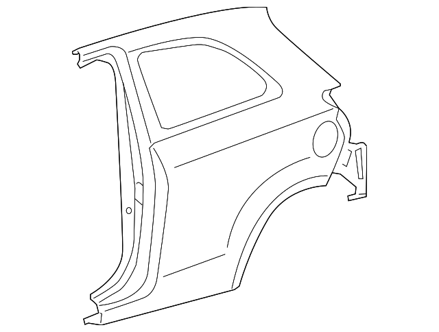 Quarter Panel - Toyota (61602-52320)