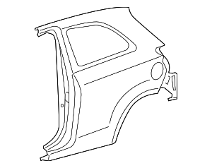Quarter Panel - Toyota (61601-52470)