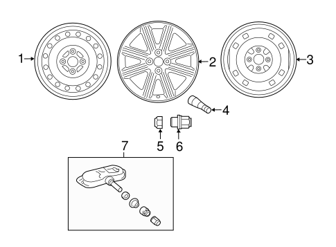 FRONT SUSPENSION/WHEELS for 2012 Toyota Yaris #1