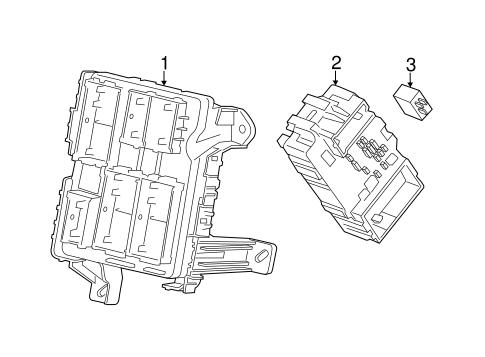 fuse  u0026 relay 2015 chevrolet suburban oem  u2013 new gm parts
