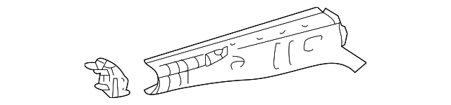 Front Side Rail - Toyota (57028-17901)