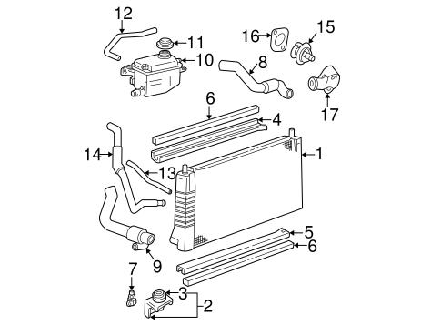 radiator  u0026 components for 2007 ford taurus