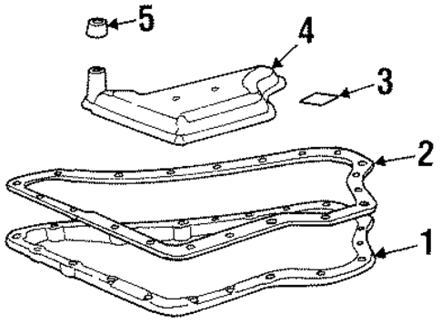 transaxle parts for 1999 cadillac deville