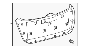 Lower Trim Panel - Toyota (64780-0T011-A0)