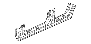 2001 Honda ACCORD SEDAN VP (SIDE SRS) PANEL, L. SIDE SILL (DOT) - (04641S84A91ZZ)