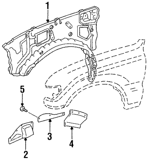 Apron Assembly - Toyota (53710-60163)