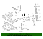 Upper Control Arm Bolt