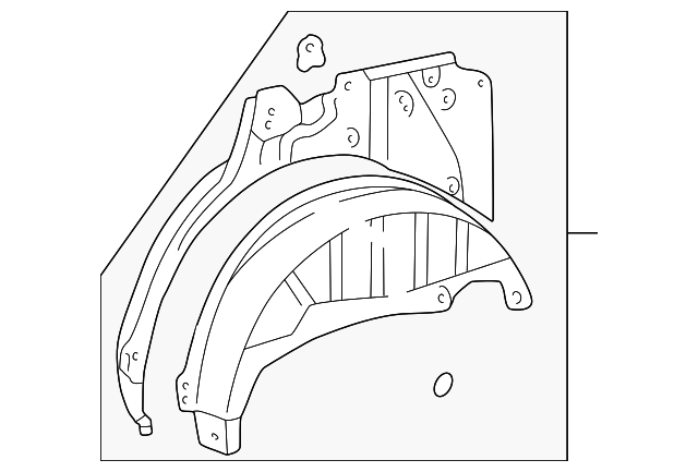 Wheelhouse Assembly - Toyota (61604-35010)