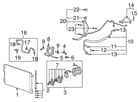 Rear Suspension Scat additionally Condenser  pressor And Lines Scat in addition Transmission as well Serpentine Belt Diagram 2003 2002 Buick Park Avenue V6 38 Liter Engine Supercharger 00821 additionally P 0996b43f8037e848. on saturn engine parts