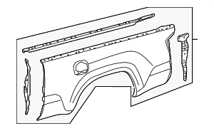 Side Panel - Toyota (65600-04410)