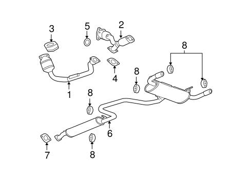 2005 malibu exhaust system diagram 2002 pontiac grand prix