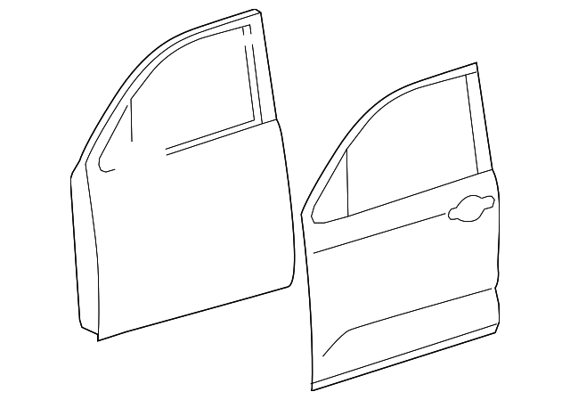 Door Shell - Toyota (67002-0C102)