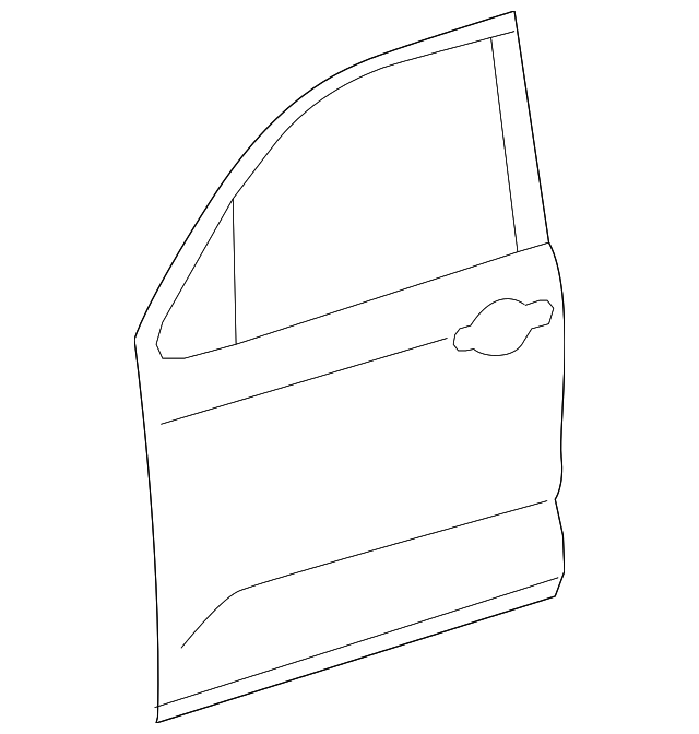 Outer Panel - Toyota (67111-0C050)
