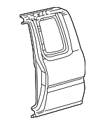 Side Panel - Toyota (61612-04011)