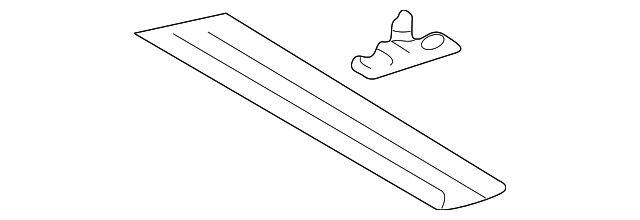Rear Trim - Toyota (63305-42010-B0)