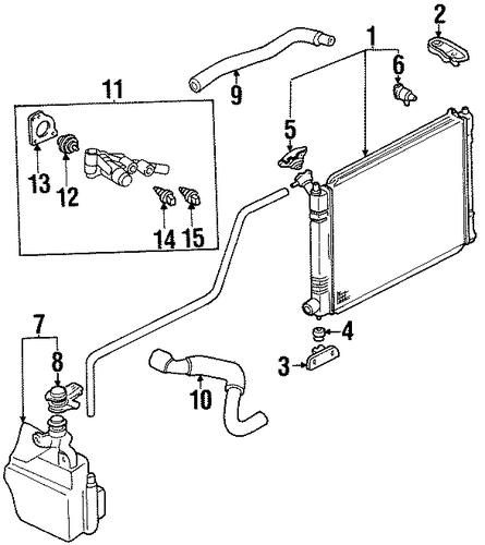 2001 Ford Escort Transmission: RADIATOR & COMPONENTS For 2001 Ford Escort