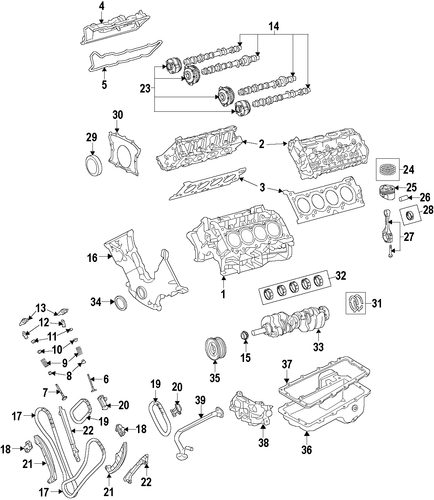 Head Gasket - Ford (FR3Z-6051-E)