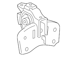 Side Mount - Toyota (12372-37200)