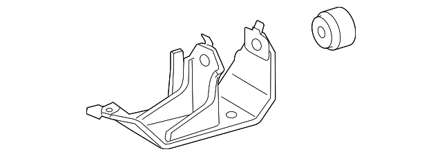 Side Mount Bracket - Toyota (12304-31010)