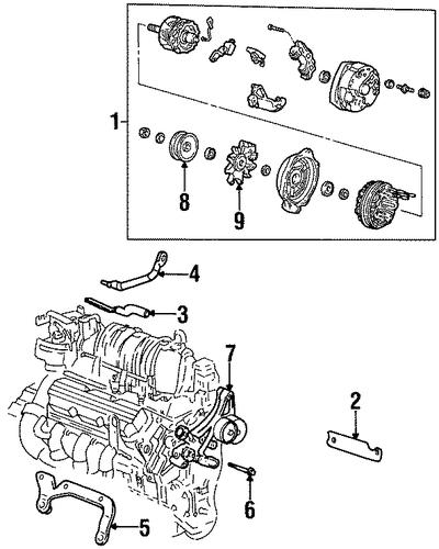 alternator for 1998 buick lesabre