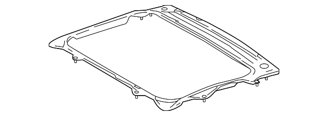 Sunroof Reinforced - Toyota (63142-47050)