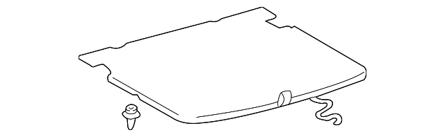Trim Board - Toyota (58410-48060-A0)