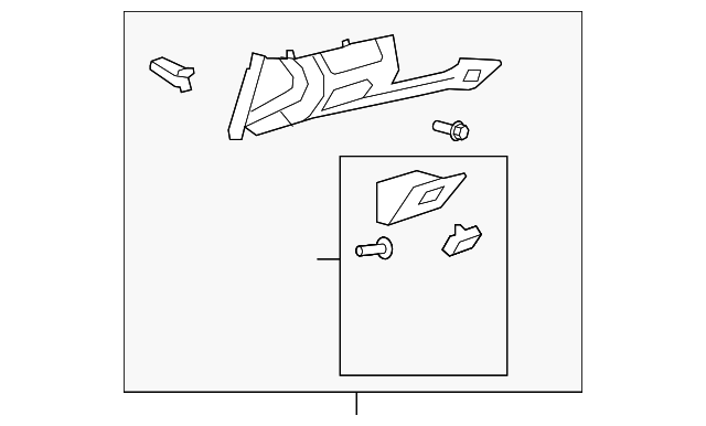 Lower Trim Panel - Toyota (55045-0E051-B0)