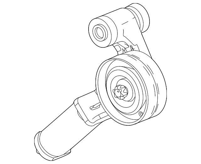 belt tensioner for 2014 chevrolet cruze