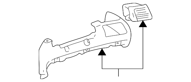 Pad Assembly - Toyota (55402-AC010-B0)