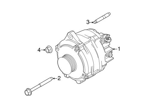 alternator for 2013 ford explorer