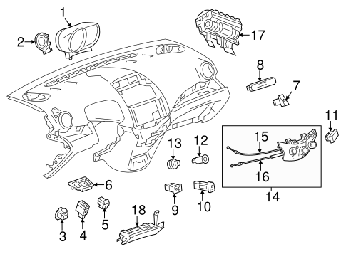 oem switches for 2013 chevrolet spark