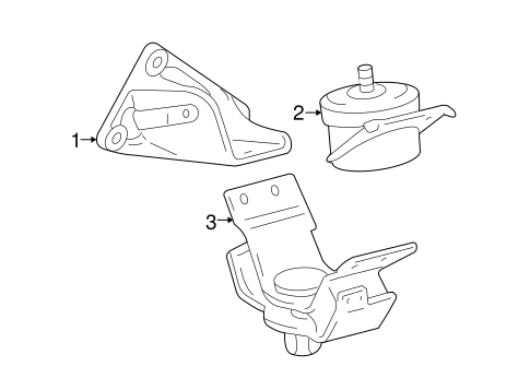 Rear Insulator - Toyota (12371-0P030)