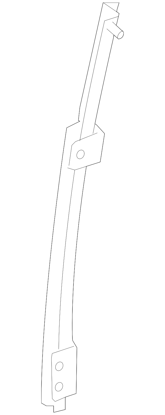 Guide Channel - Toyota (67407-0C050)