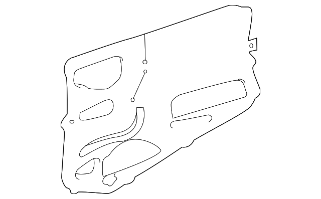 Water Shield - Toyota (67851-08020)
