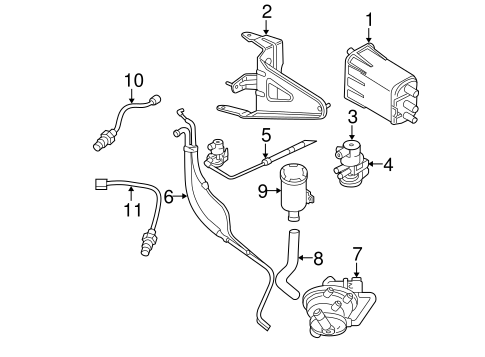 EMISSION SYSTEM/EMISSION COMPONENTS for 2002 Dodge Dakota #1