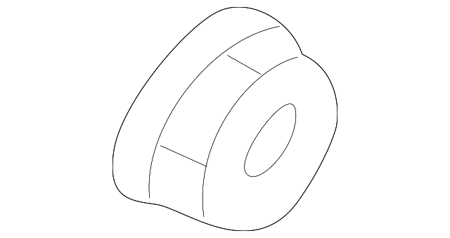 OEM Honda 31142-PD1-004 - Pulley Nut