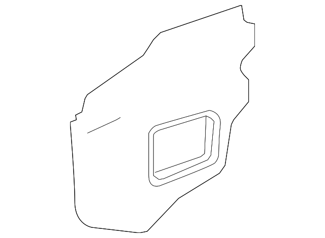 Water Deflector - Toyota (67831-0T013)