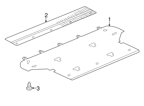 Sill Panel - Toyota (58574-60100-B1)