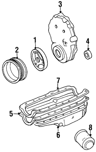 engine parts for 1999 gmc suburban k1500  sle
