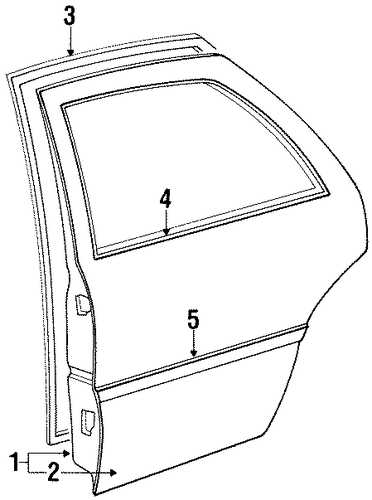 Door Shell - Toyota (67004-13220)