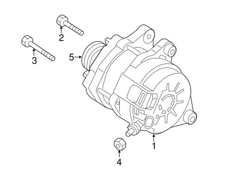 alternator for 2013 mazda 3