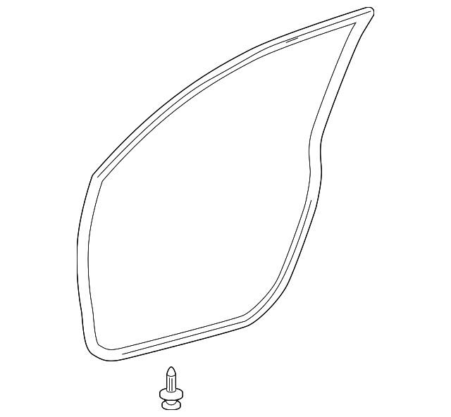 Door Weather-Strip - Toyota (67862-0R010)