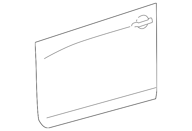 Outer Panel - Toyota (67111-0R010)
