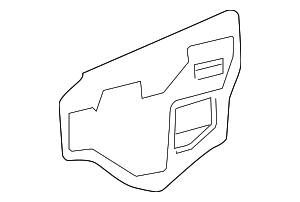 Water Shield - Toyota (67832-0R030)