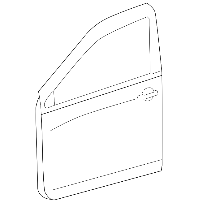 Door Shell - Toyota (67002-0R020)