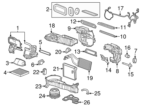 2008 Chevy Silverado Parts Diagram besides Switches And Sensors Scat likewise Canister Vent Valve Fuse 2008 Trailblazer besides 191682704363 as well 1968 Impala Dash Wiring Diagram. on 2015 chevy colorado accessories