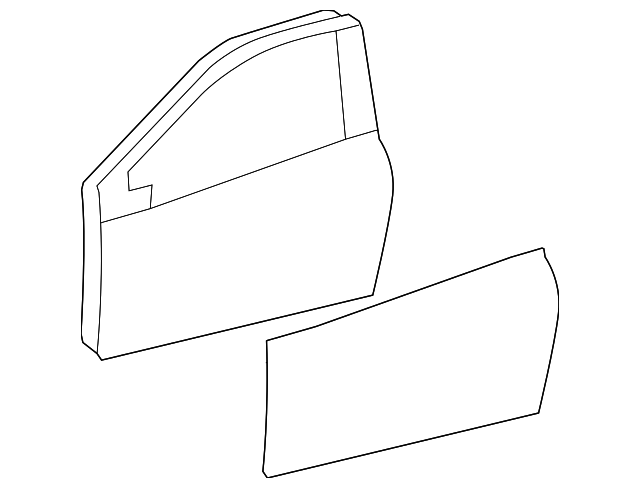 Door Shell - Toyota (67002-0D320)