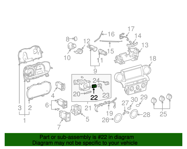 Controller - Toyota (55937-52120)