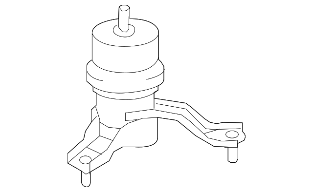 Side Mount - Toyota (12362-31040)