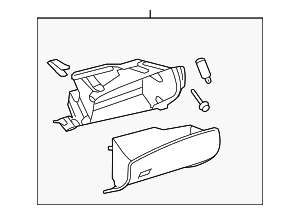 Glove Box Assembly - Toyota (55303-48151-C0)